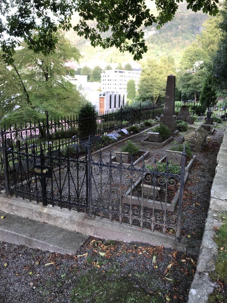 Christian Gerhard Ameln Sundt`s familiegravsted på Møllendal kirkegård