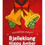 Fjellsiden ølbryggerlag - etikett av Vestbrygg Bjelleklang Hoppy Amber