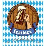 Fjellsiden ølbryggerlag - etikett av Vestbrygg Festbier