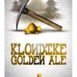 Fjellsiden ølbryggerlag - etikett av Vestbrygg Klondike Golden Ale
