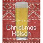 Fjellsiden ølbryggerlag - etikett av Vestbrygg Christmas Kölsh
