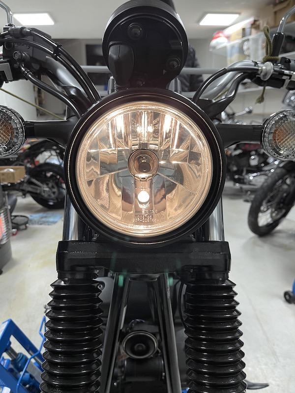 Bilde av Yamaha SCR 950 halogenlampe