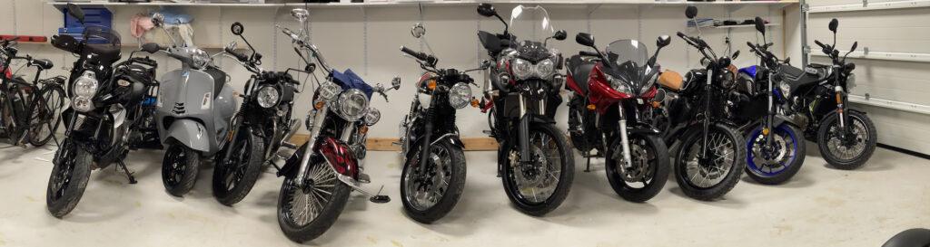 Fjellsiden MC - bilde av 10 motorsykler